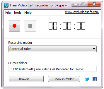 Free Video Call Recorder Skype 1.2.1.717,2013 FreeVideoCallRecorde