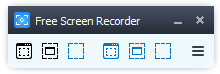 Free Screen Video Recorder Screen shot