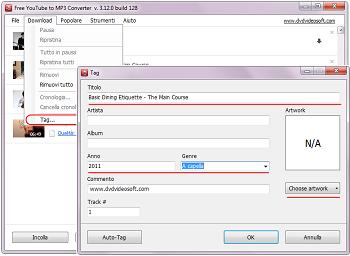 Free YouTube to MP3 Converter: clicca su Sfoglia... e seleziona la cartella di output